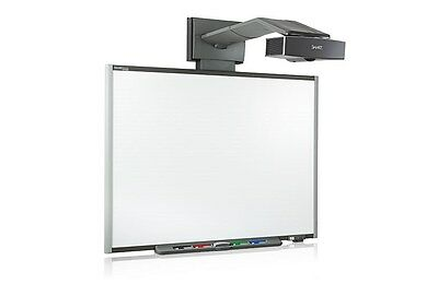 "87"" Sb685 Interactive Smart Board And Projector Uf55 Complete Warranty"