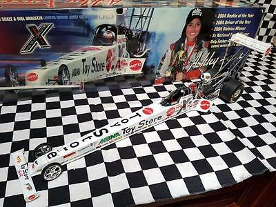 2005 Ashley Force Mattel Toy Store A/FD First Win 1:16th NHRA Top Fuel Dragster