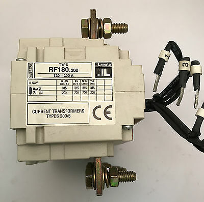 Lovato 11RF180 200 Thermal Overload Relay 120-200A