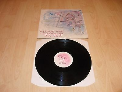 "James - Village Fire (Uk 1985 5 Track 12"" Vinyl Single) Factory Fac 138"