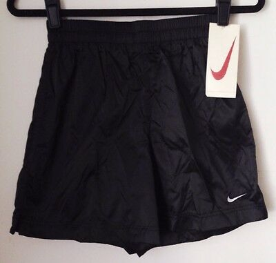 vintage nike white tag shorts shiny youth size XL deadstock NWT