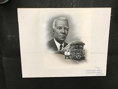 Production Artwork - A. Philip Randolph, Leader of the Civil Rights Movement