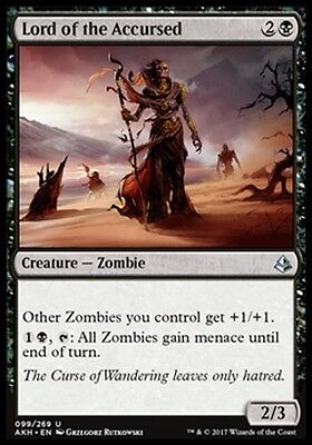 MTG 4x Lord of the Accursed [English, Playset, Amonkhet, Free P&P]