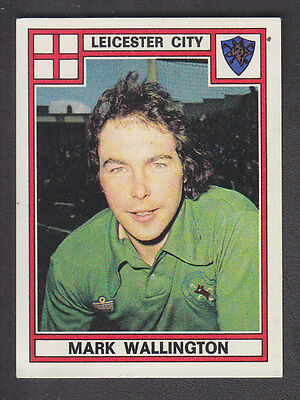Panini - Football 78 - # 178 Mark Wallington - Leicester