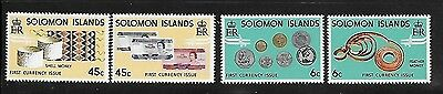 Solomon islands 1977 New Coinage Traditional money MNH A159
