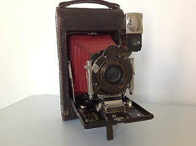 Vintage Eastman Kodak NO.3 Folding  Pocket soufflet rouge