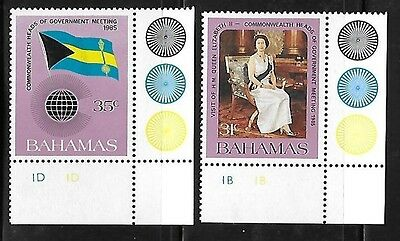 Bahamas 1985 Commonwealth heads of government meeting Flag MNH A541