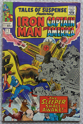 Tales Of Suspense #72, (Iron Man & Captain America) Marvel Silver Age Classic