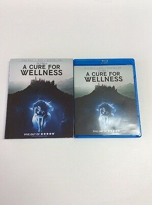 A Cure For Wellness, Blu Ray, & Digital HD, NO DVD Included Please Read!