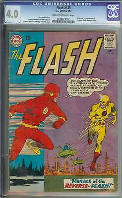 Flash #139 Cgc 4.0 Cr/ow Pages