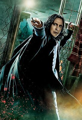 Harry Potter Snape - A4 Glossy Poster -TV Film Movie Free Shipping #34