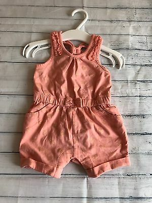 Baby Girls Clothes 0-3 Months - Pretty Jumpsuit Outfit