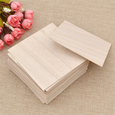 1mm Thickness Wooden Plate Wood Sheet for DIY Model Boat Vehicle Plane Car House