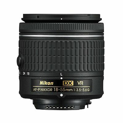 Nikon D Series AF-P DX NIKKOR 18-55mm f/3.5-5.6G VR DSLR DSLR Camera Lens