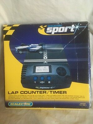 Scalextric Sport Lap Counter / Timer - Boxed / Excellent Condition