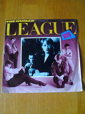 "The Human League ‎– Don't You Want Me - UK 7"" VINYL SINGLE - 1981 - EX/VG"