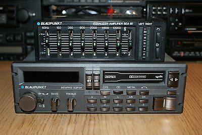 Blaupunkt Memphis SQR04 High End Classic Cassette Car Stereo MP3 BQA107 Amp BOX
