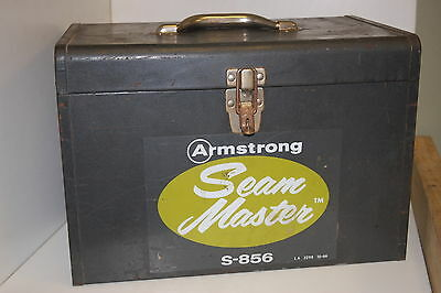 Armstrong S-856 Seam Master Flooring Saw with Case