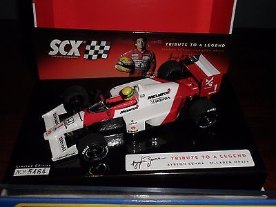SCX 64270  AYRTON SENNA  McLAREN MP 4/6     Tribute To A Legend