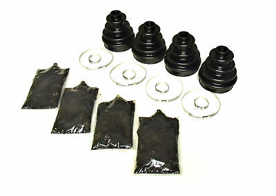 2011-2013 Polaris Ranger 500 4x4: Pack of 4 Rear Inner & Outer CV Boot Kits