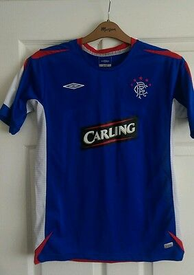 Glasgow Rangers Football Club Shirt 2006 Home Ulster Northern Ireland