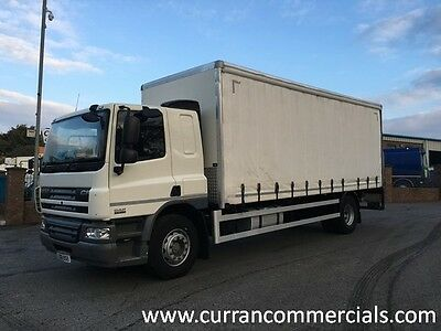 2012 Daf CF 65 220 Euro 5 4x2 18T Curtainsider With Tail Lift Manual LEZ LOW KMs