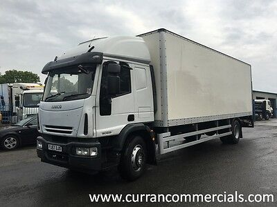 07 57 Iveco 180e25 Euro Cargo 18 Ton 26ft GRP Box With Tail Lift