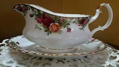 Royal Albert Old Country Roses Gravy Boat New