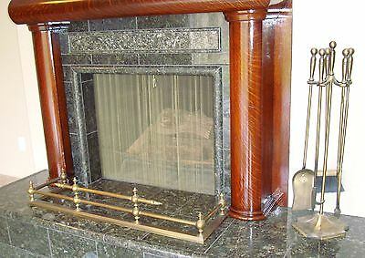 Brass Fireplace Fender guard