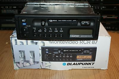 NEW Blaupunkt Montevideo RCR 87 80s Classic Cassette Car Stereo Boxed Warranty