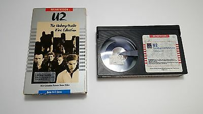 U2 The Unforgettable Fire Collection Beta High-Fi Stereo Tape MusicVision 1985