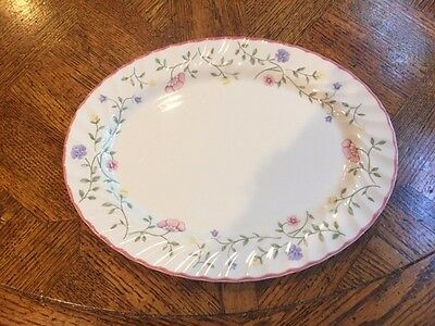 "Johnson Brothers 12"" Oval Serving PLATTER england  SUMMER CHINTZ floral"
