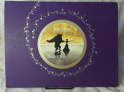 Disney's Beauty and the Beast Lithograph (2002 Exclusive) Absolutely Gorgeous***