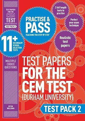 Practise and Pass 11+ CEM Test Papers - Test Pack 2: Test pack 2 9781844556373