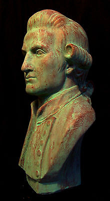Captain James Cook Australian Sculpture Bust  Ltd. Ed. 32 cm. New. Bronze finish