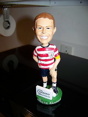 Women's USA Olympic Soccer CHRISTIE RAMPONE #3 Bobblehead Lakewood Blueclaws