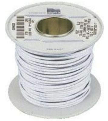 Alpha Wire White Hook Up Wire, 0.9 mm² CSA , 600 V 18 A, 30m- New in Box
