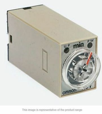 Omron ON Delay Single Time Delay Relay, 0.5-10 s, 2 Contacts, - New in Box