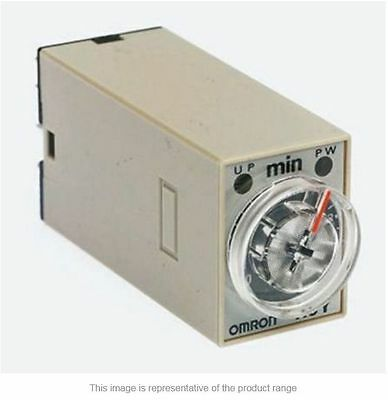 Omron ON Delay Single Time Delay Relay, 1-30 s, 2 Contacts 12Vdc- New in Box