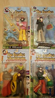 Mcfarlane The Beatles Yellow Submarine  Lennon Mccartney Harrison Starr Boxed