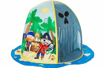 New Childrens Kids Chad Valley Pirate Island Pop up Play House Bundle Set Tent