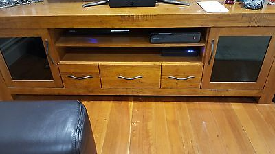 TV Entertainment Unit * solid timber * distressed look