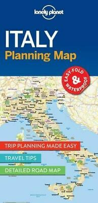 NEW Italy Planning Map By Lonely Planet Folded Sheet Map Free Shipping