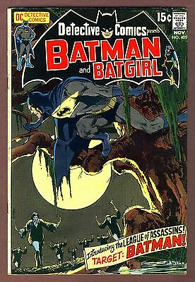 Detective Comics #405 7.0 ow/white. 1st league of Assassins. Neal Adams cover.