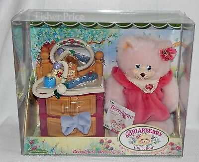 FISHER-PRICE BRIARBERRY BEAR NRFB BERRY LYNN's DRESS UP SET TOYS R US EXCLUSIVE