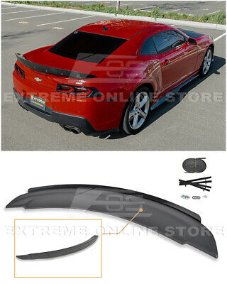 For 14-15 Chevrolet Camaro ZL1 Style Rear Trunk Wing Lip Spoiler W/ Wicker Bill