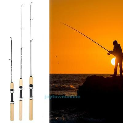 23''-39'' Pro Portable Shrimp Ice Fishing Rods Pole Cold Snow Fish Rods Tackle