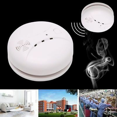 Wireless Smoke Fire Detector Optical Smoke Alarm Wifi GSM Touch Keypad Panel