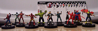 Marvel Heroclix 15th Anniversary What If? 001-025 Common Uncommon Set