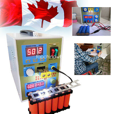 【From Canada】 LED Dual Pulse Spot Welder Welding Machine Power Battery Charger